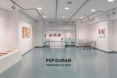 """Visita virtual a l'exposició """"Dibuixar els dies"""" de Pep Duran"""