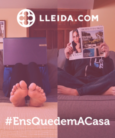 #EnsQuedemACasa Poster