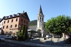 L'església de Sant Miquèu de Vielha / SEGRE