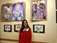 Les aquarel·les de Gina Sagawa, a la Fecoll