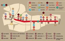 Mapa CERVERA VILA DEL LLIBRE 2019