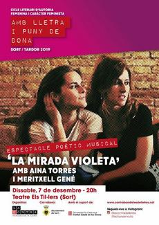 "Espectacle poètico-musical ""La mirada violeta"""