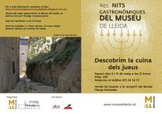 Nits Gastronòmiques del Museu de Lleida