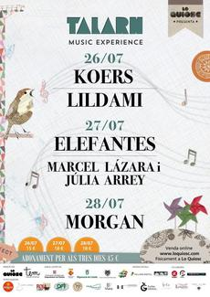 Morgan - Talarn Music Experience 2019