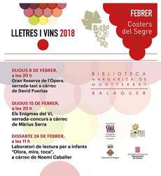 'Enigmes del vi' a càrrec de Màrius Serra