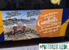 En un univers no tant paral·lel, l'anunci de #Cambrils dels autobusos de Lleida és així.