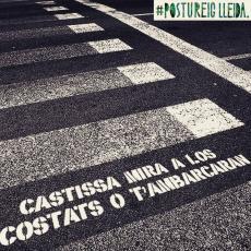 El #VandalismoSentimental a Lleida serie així. #PostureigLleida