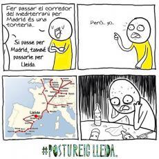 Als pro-Lleida anti-Madrid, aquet dubte us pot passar pel cap... #PostureigIndepe Vs. #PostureigLleida