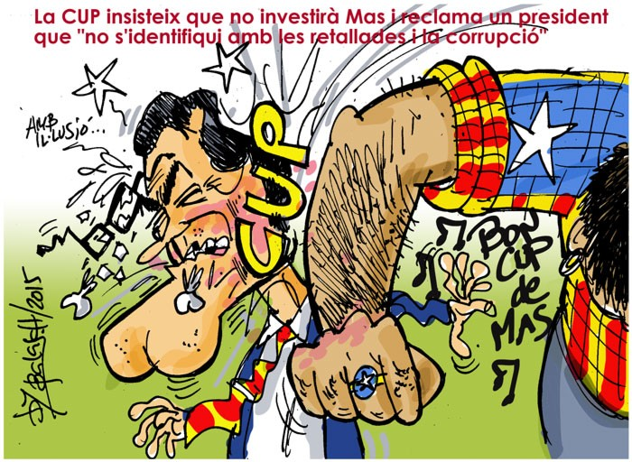 La CUP insisteix que no investirà Mas i reclama un president que no s'identifiqui amb les retallades i la corrupció