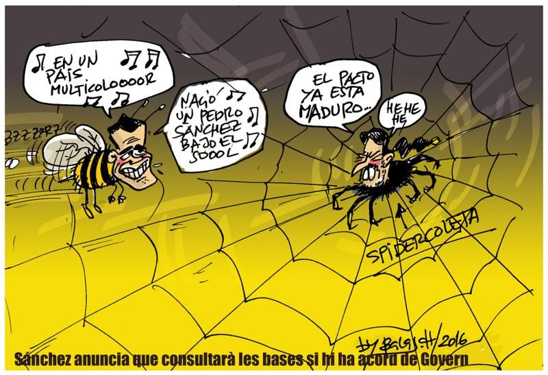 Sánchez anuncia que consultarà les bases si hi ha acord de Govern