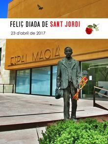 Cartell Sant Jordi Espai Macià 2017