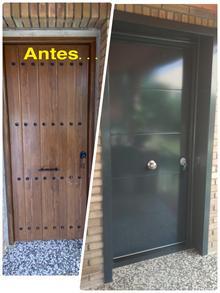 Puerta acorazada lleida