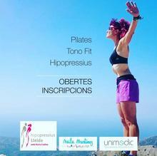 Núria Codina, hipopressius, tono fit, pilates.