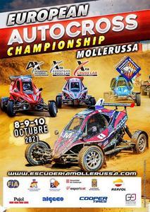 Cartell Campionat d'Europa d'Autocròs Mollerussa