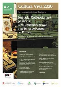 """Jornada """"Col·leccionant Passions: el col·leccionisme privat a les Terres de Ponent i del Pirineu"""""""