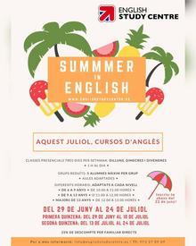 Cursos d'estiu i intensius per a totes les edats a English Study Center!
