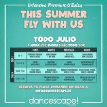 Estades d'estiu i intensius a Dancescape perquè no deixis de ballar!