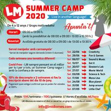 Summer Camp 2020 a LM Idiomes!
