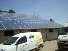 Energia solar, placas solares, instalacion fotovoltaica, solar aislada