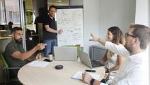 Reunió de transformació digital de l'equip d'ACTIUM Digital