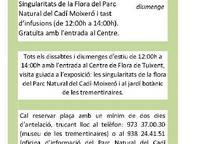 Activitats Centre de Flora de Tuixent