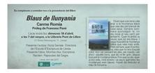 BLAUS DE LLUNYANIA de Carme Romia