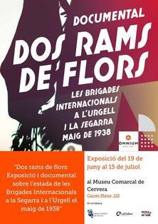 """El Museu Comarcal de Cervera acull l'exposició """"Dos Rams de flors"""""""