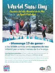 Vine a gaudir el Dia Mundial de la Neu a Espot i Port Ainé!
