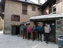 Creu de Sant Jordi a l'Ecomuseu de les valls d'Àneu