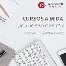 Incompany. Formació a mida per la teva empresa Cambra Lleida