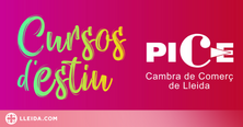 Forma't de manera gratuïta amb la Cambra de Comerç de Lleida