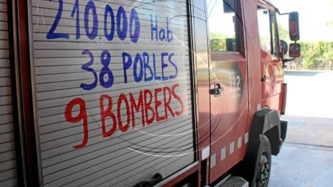 Els bombers cobriran totes les emergències malgrat la vaga