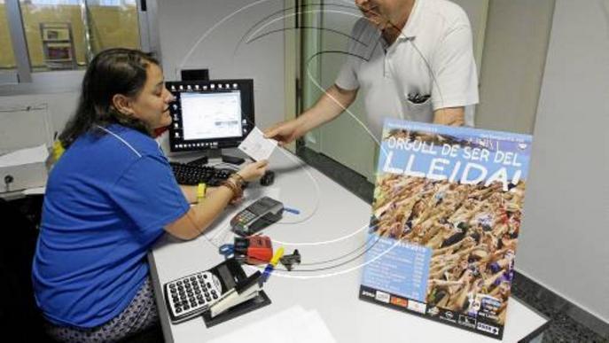 El Lleida capta catorze nous socis el primer dia