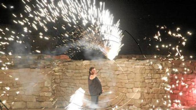 Els Vilars es converteix en un escenari de foc i música