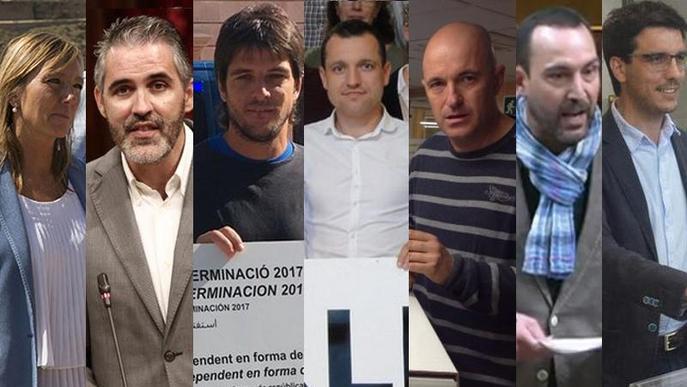 Com veuen els partits des de Lleida les declaracions de Puigdemont i de Rajoy?