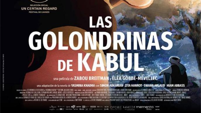 Cartell Las golondrinas de Kabul