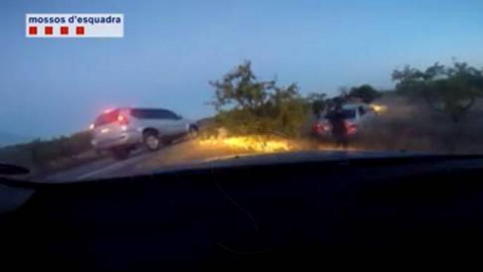 Cau una banda que havia comès més de 80 robatoris en autopistes d'arreu de Catalunya