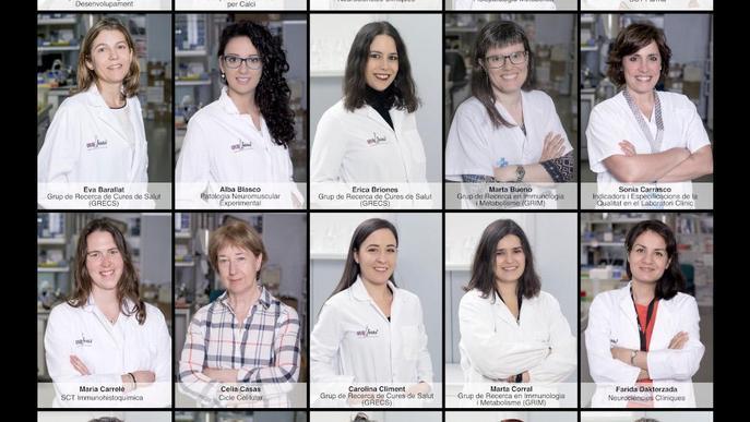 L'IRBLleida amplia l'exposició fotogràfica amb motiu del Dia Internacional de les Dones i les Nenes en la Ciència