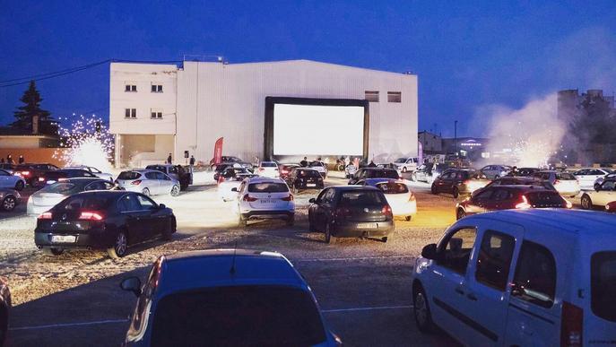 Últim cap de setmana de l'auto cine de Golmés