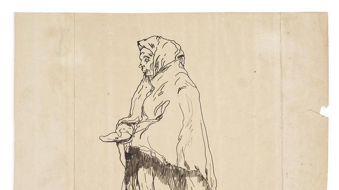 La UdL treu a la llum un dibuix inèdit d'Isidre Nonell