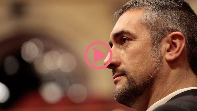 """⏯️ Bernat Solé: """"Ser conseller pot condicionar que sigui jutjat per l'1-O d'una manera o altra"""""""