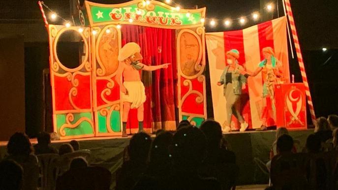 ⏯️ Alpicat oblida l'estat d'alarma amb el primer espectacle amb públic