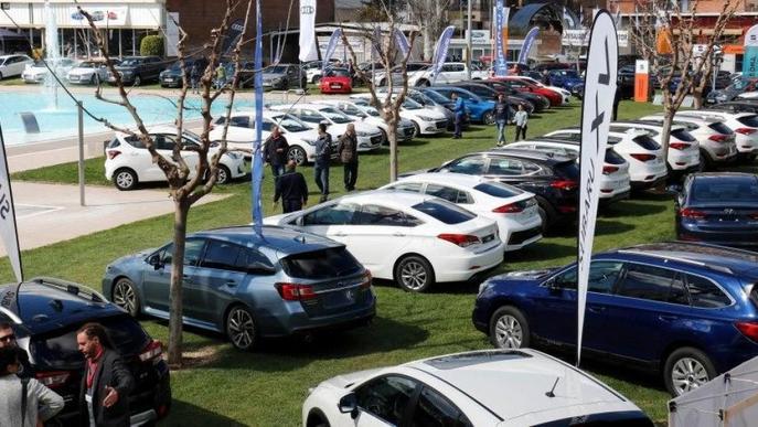Les vendes de cotxes a la demarcació de Lleida van baixar un 1,54% l'any passat