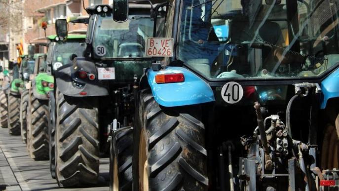 El sector agrícola es manifestarà divendres a Lleida en defensa de la pagesia i del món rural