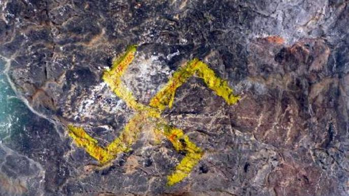 Queixes per vandalisme a la Cova del Tabac de Camarasa