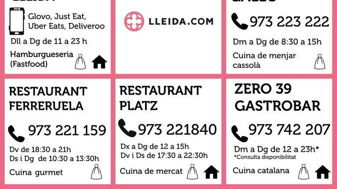 Els restaurants a Lleida es troben davant de l'última reserva?