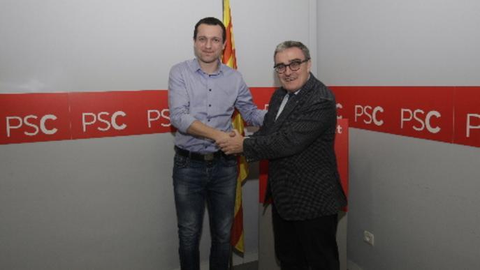 Ordeig és proclamat primer secretari del PSC en el lloc de Ros