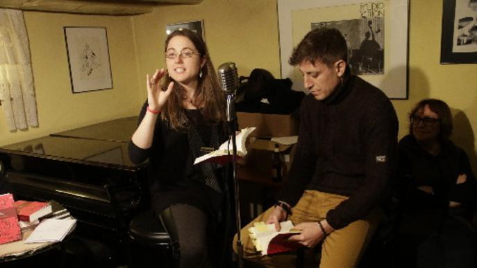 Presentació d'un poemari i una novel·la a Lleida