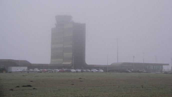 Exigeixen millorar l'antiboira d'Alguaire després de quatre dies de vols desviats a Reus i el Prat