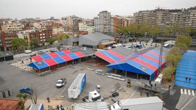 El Barça cita 118.578 socis perquè votin la reforma del Camp Nou
